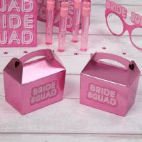 Bride Squad Mini Favour Boxes (10)